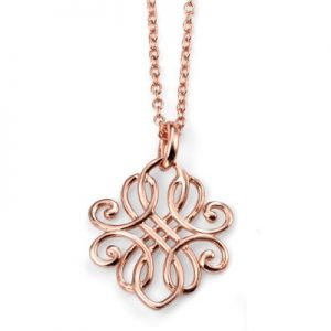 N3743-rose-gold-sterling-silver-filigree-necklace