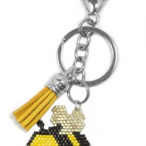 Miyuki Beaded Keyrings and Bag Charms