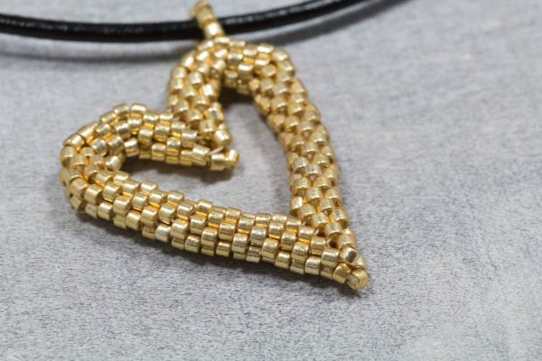 gold-miyuki-beaded-heart-pendant-with-leather-cord-3