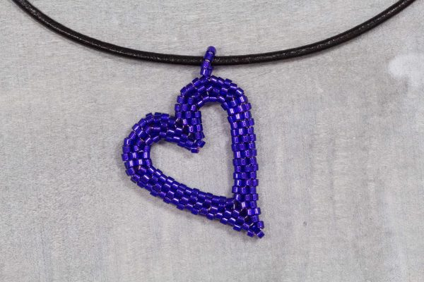 violet-miyuki-beaded-heart-pendant-with-leather-cord-1